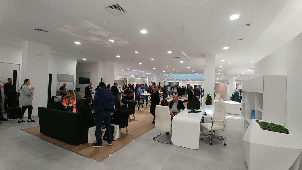 inauguration expobain porcelanosa mabani