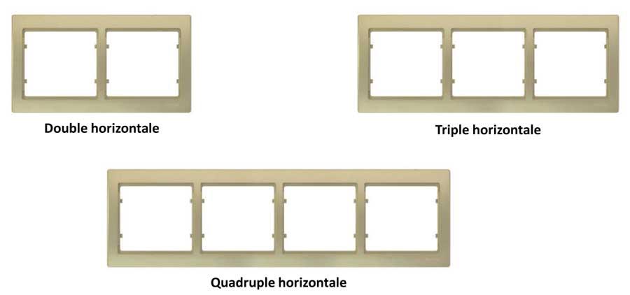 Modularité plaques appareillage ingelec