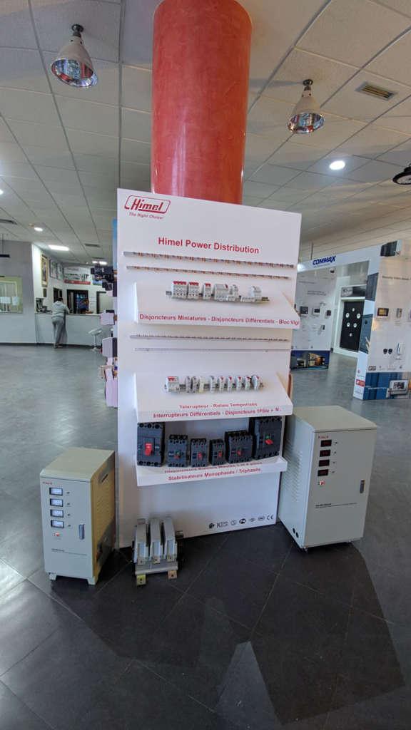 Disjoncteurs Stabilisateurs Elecmar
