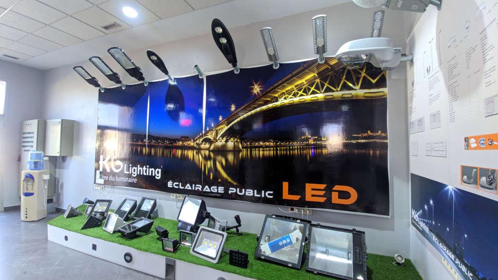 Eclairage public KGlighting Elecmar