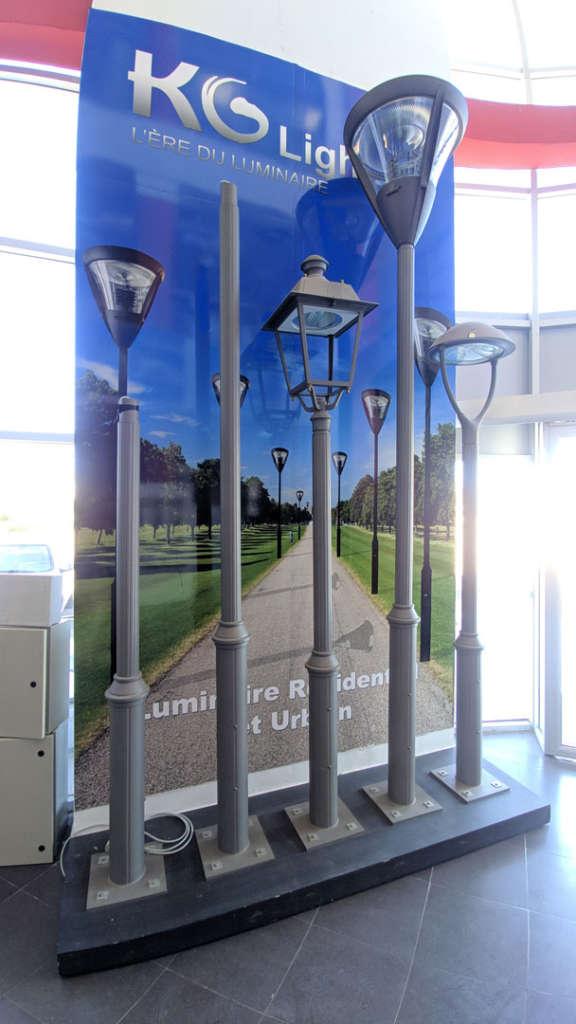 Luminaires pour extérieur KGlighting Elecmar