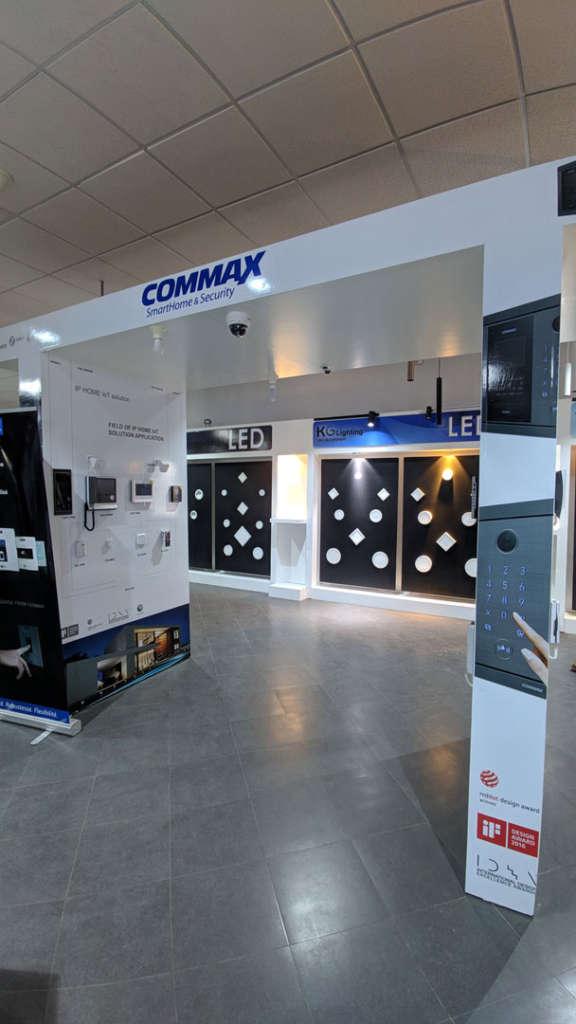 Smarthome et sécurité Commax et Elecmar