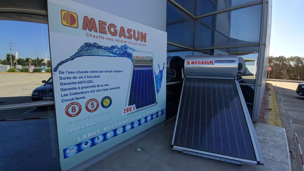 Chauffe eau solaire circuit fermé Elecmar