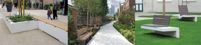 mafoder mobilier urbain bancs bois exemples
