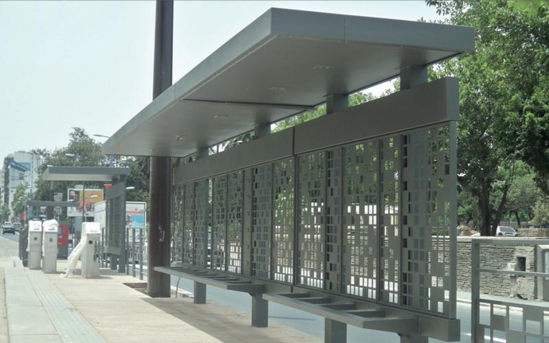 mafoder mobilier urbain tramway abri