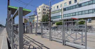 mafoder mobilier urbain tramway barriere