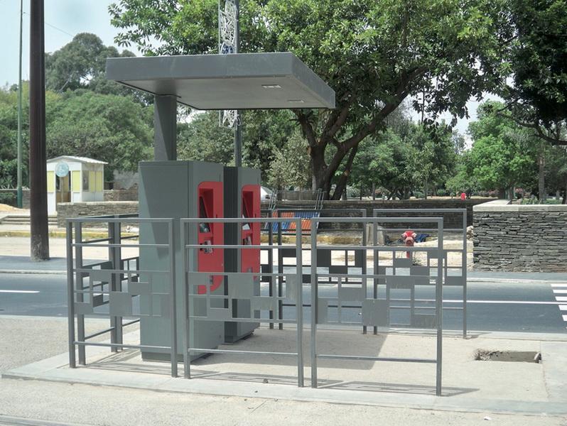 mafoder mobilier urbain tramway billeterie