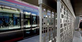 mafoder mobilier urbain tramway grille