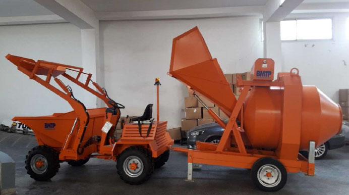 BMTP betonniere dumper maroctrading
