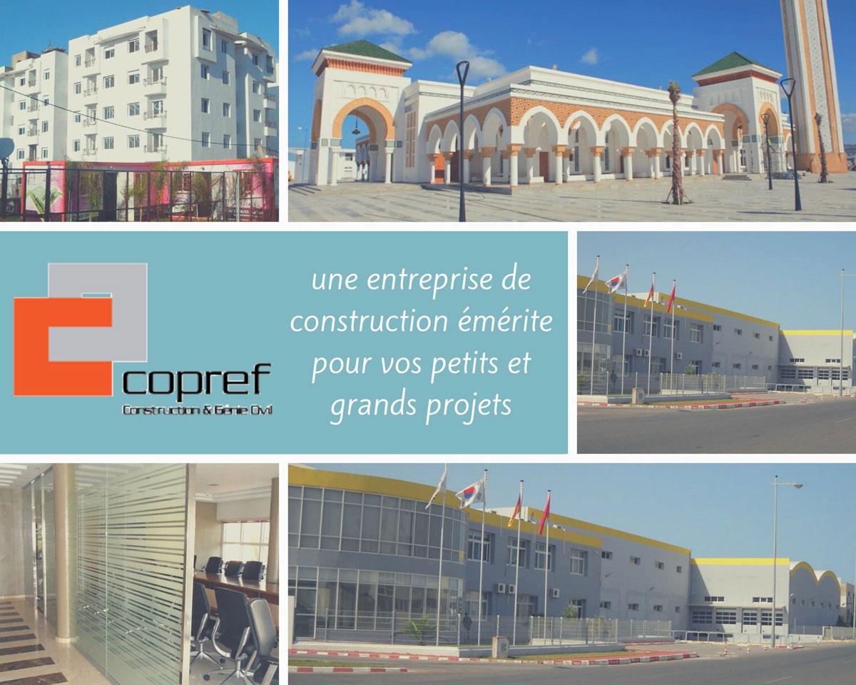 COPREF entreprise construction amenagement