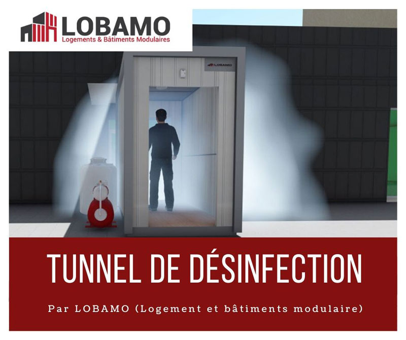 LOBAMO.ma tunnel desinfection