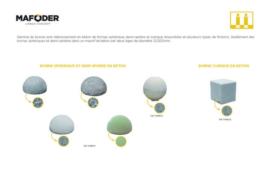 Mafoder Urban Concept Catalogue Mobilier Urbain mabani Page