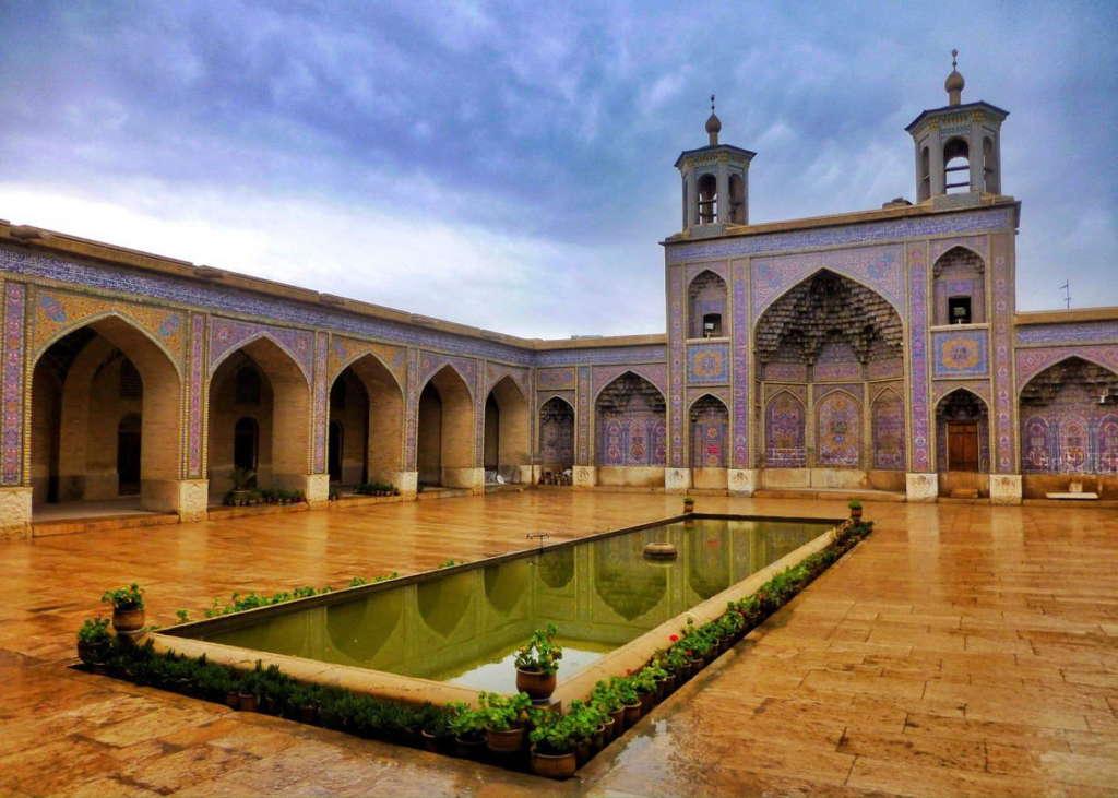 Nasir ol molk mosquee Shiraz iran mabani ramadan