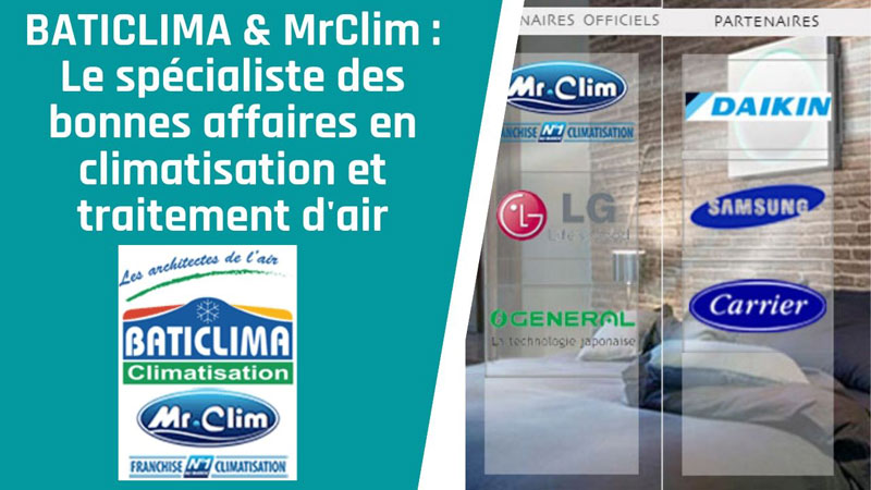 baticlima mrclim promotion desinfection entretien climatisation