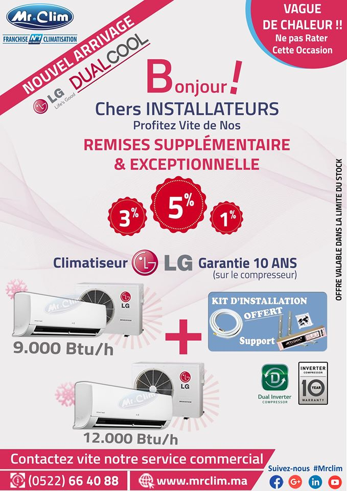 baticlima mrclim promotion installateurs climatisation