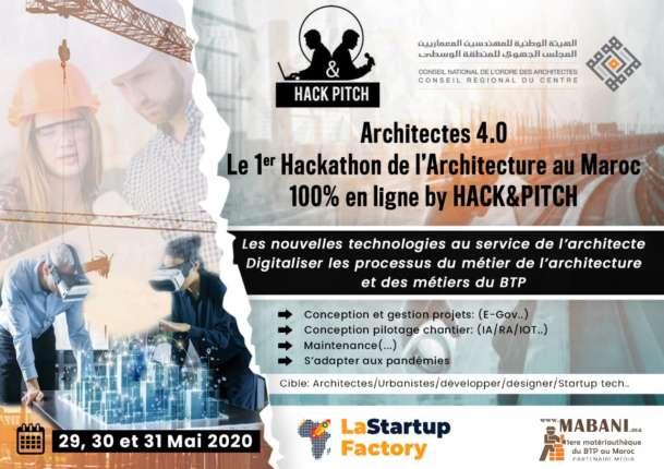 affiche Hackathon Architecture