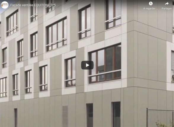 equitone vidéo facade ventilée mabani