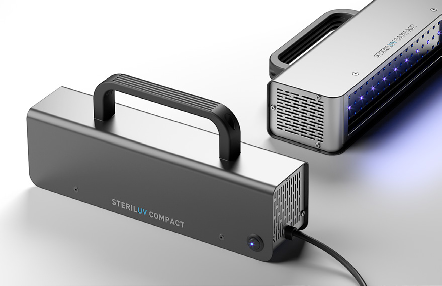 STERILUV COMPACT LED Appareil portatif de Desinfection UV LED Concept Light mabani