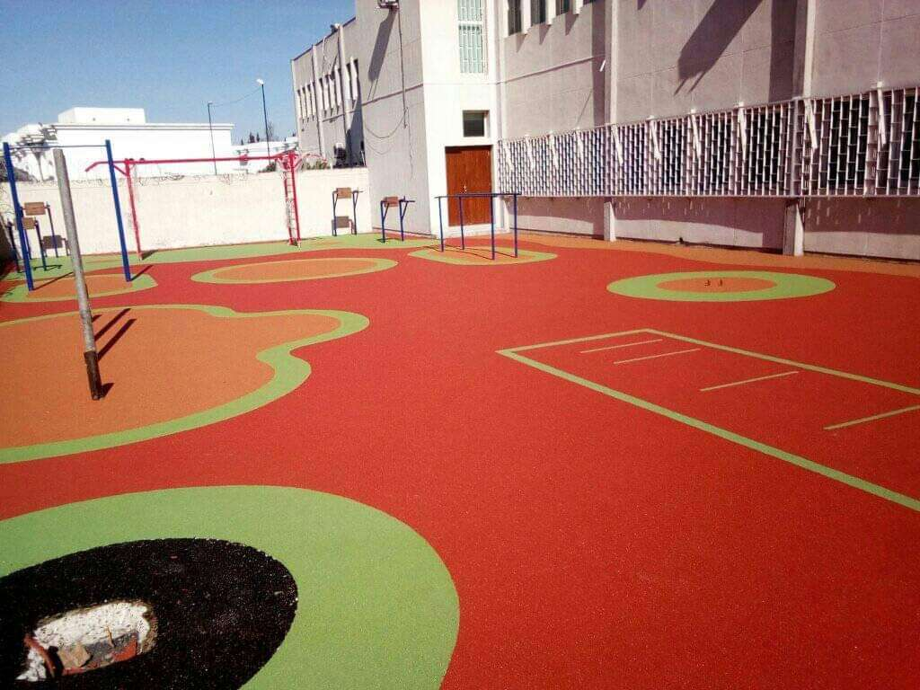 revetement installation aire de jeux mabani.info mabani.ma
